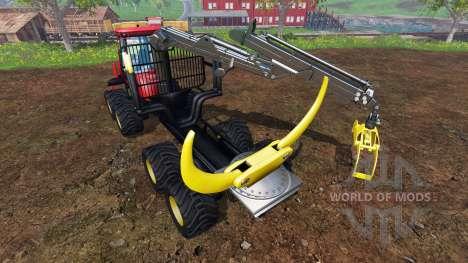 John Deere 1110D [red] для Farming Simulator 2015