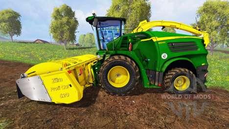 John Deere 8600i для Farming Simulator 2015