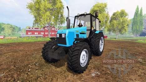 Беларус-1221 v2.0 [голубой] для Farming Simulator 2015