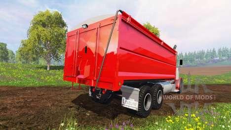 Peterbilt 379 [grain truck] для Farming Simulator 2015