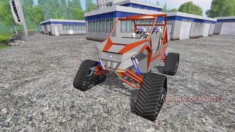 Polaris RZR XP 1000 [tracked] для Farming Simulator 2015