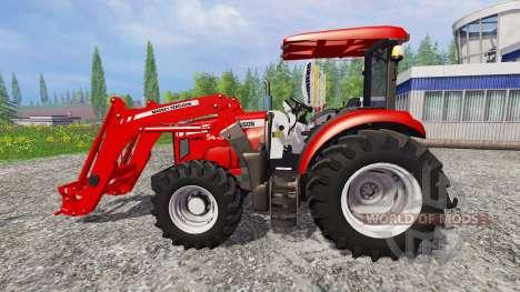 Massey Ferguson 5445 FL [ensemble] для Farming Simulator 2015