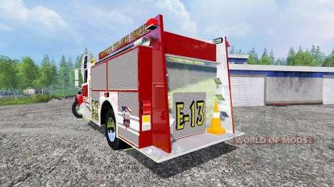 Freightliner FL60 [feuerwehr] для Farming Simulator 2015