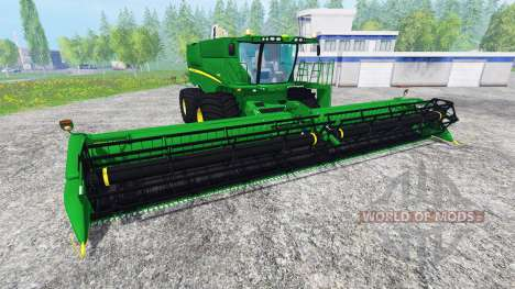 John Deere S680 для Farming Simulator 2015