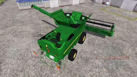 John Deere S 690i v1.5 для Farming Simulator 2015