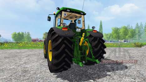 John Deere 7920 v1.0 для Farming Simulator 2015