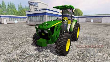 John Deere 5115M для Farming Simulator 2015