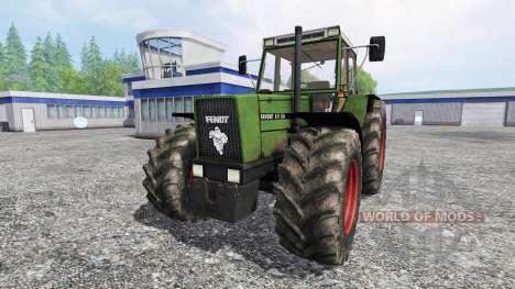 Fendt 611 LSA Turbomatic [forestry edition] для Farming Simulator 2015