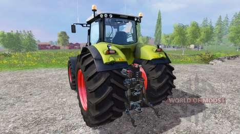 CLAAS Axion 850 v1.2 для Farming Simulator 2015
