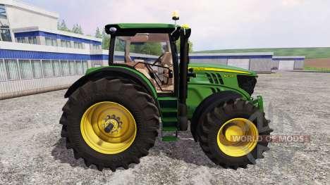 John Deere 6210R v2.1 для Farming Simulator 2015