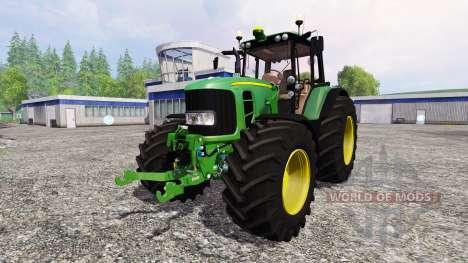 John Deere 7530 Premium v2.2 для Farming Simulator 2015