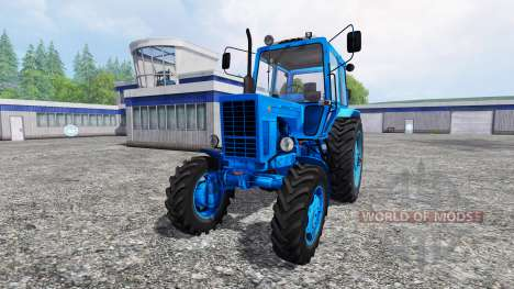 МТЗ-82 [синий] для Farming Simulator 2015