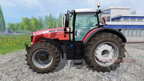Massey Ferguson 8737 v1.1 для Farming Simulator 2015