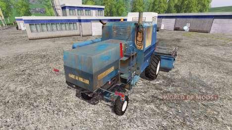 Bizon Z056 [синий] для Farming Simulator 2015