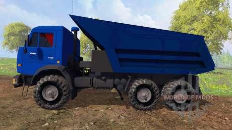 КамАЗ-65115 v4.0 для Farming Simulator 2015