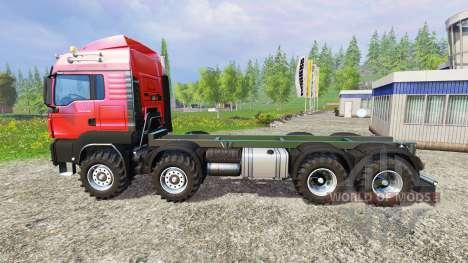 MAN TGS 41.480 8x8 v6.0 для Farming Simulator 2015