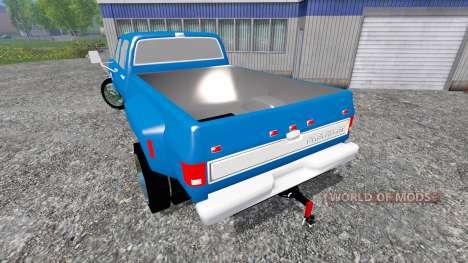 Chevrolet Silverado 1984 [dually] для Farming Simulator 2015