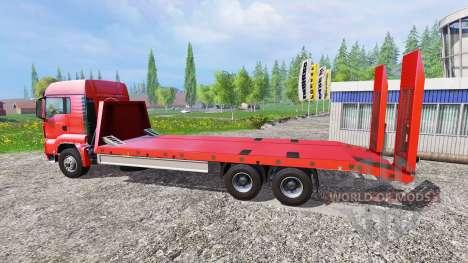 MAN TGS 18.440 [plateau] для Farming Simulator 2015