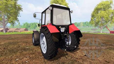 Беларус-1221.2 v2.0 [красный] для Farming Simulator 2015