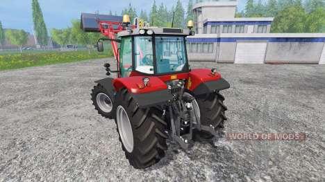 Massey Ferguson 6613 для Farming Simulator 2015