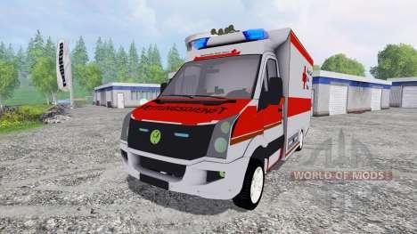 Volkswagen Crafter BRK для Farming Simulator 2015