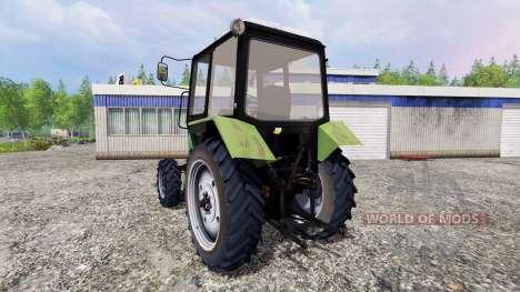 МТЗ-82.1 Беларус [зелёный] для Farming Simulator 2015