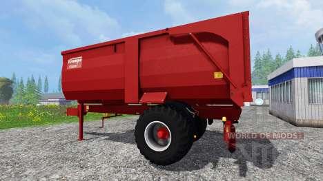 Krampe BBE 600 для Farming Simulator 2015