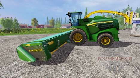 John Deere 8400i для Farming Simulator 2015
