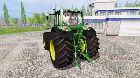 John Deere 7530 Premium v2.1 для Farming Simulator 2015