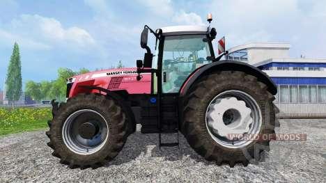 Massey Ferguson 8737 v1.0 для Farming Simulator 2015