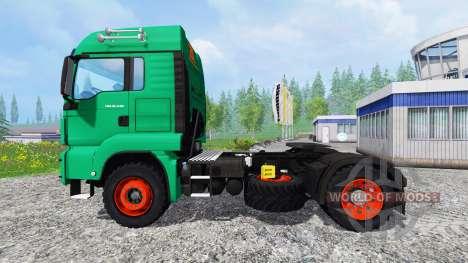 MAN TGS Aguas-Tenias для Farming Simulator 2015