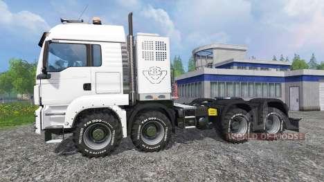 MAN TGS [heavy haulage] для Farming Simulator 2015