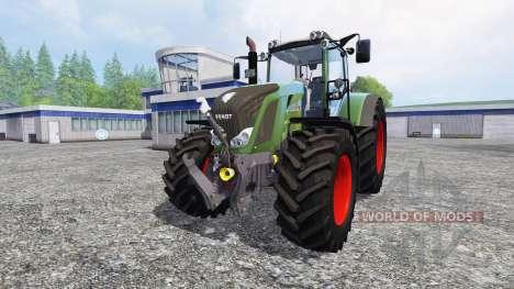 Fendt 828 Vario SCR v2.0 для Farming Simulator 2015