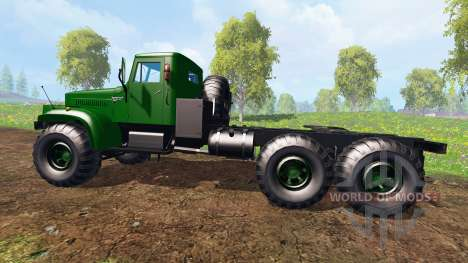 КрАЗ-255 В1 v1.1 для Farming Simulator 2015