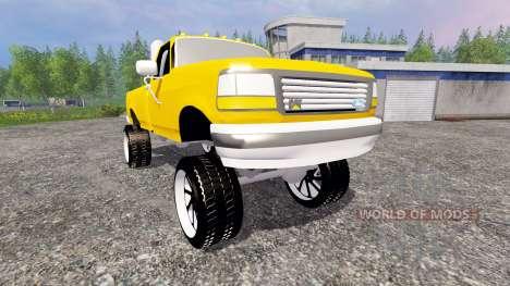 Ford F-150 v1.0 для Farming Simulator 2015