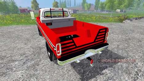 Ford F-250 1972 для Farming Simulator 2015