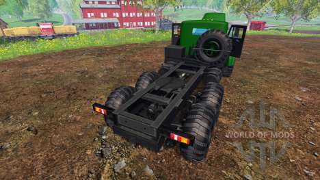 КрАЗ-255 В1 v1.2 для Farming Simulator 2015