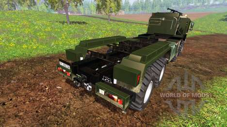 MAN KAT2 WLF для Farming Simulator 2015