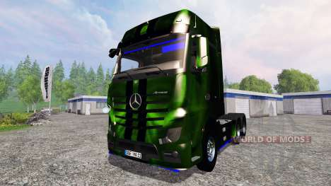 Mercedes-Benz Actros MP4 NOS Hardcore для Farming Simulator 2015