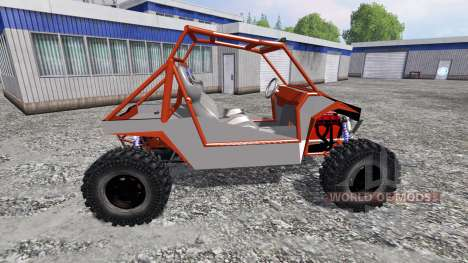 Polaris RZR [wheels] для Farming Simulator 2015