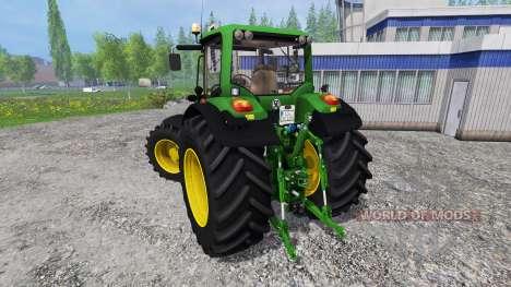 John Deere 7530 Premium v1.0 для Farming Simulator 2015