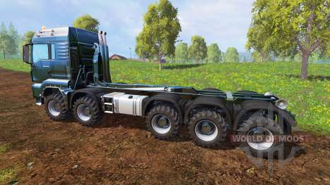 MAN TGS [container truck] v1.6.3 для Farming Simulator 2015