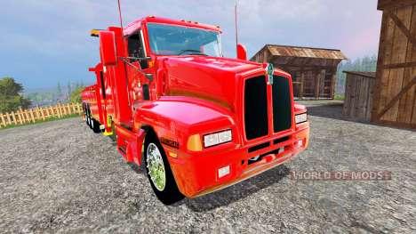 Kenworth T600B [wrecker] для Farming Simulator 2015