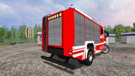 MAN TGM [firefighter] для Farming Simulator 2015