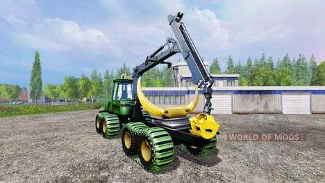 John Deere 1110D v1.2 для Farming Simulator 2015