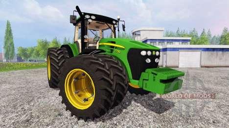 John Deere 7730 v2.0 для Farming Simulator 2015