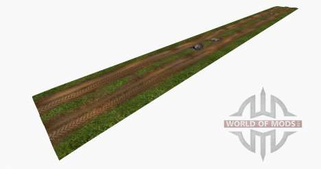 Wet dirt roads для Farming Simulator 2015