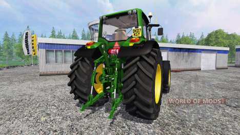 John Deere 7430 Premium v2.0 для Farming Simulator 2015