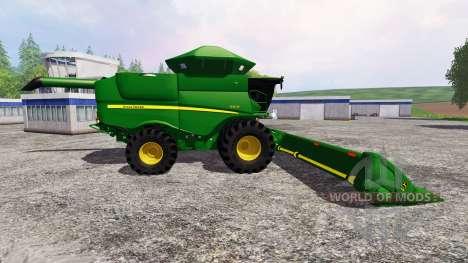 John Deere S670 для Farming Simulator 2015