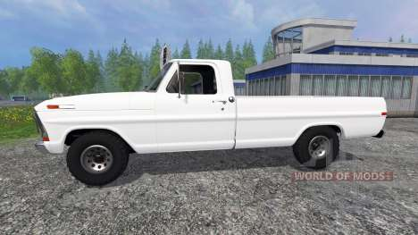 Ford F-100 для Farming Simulator 2015